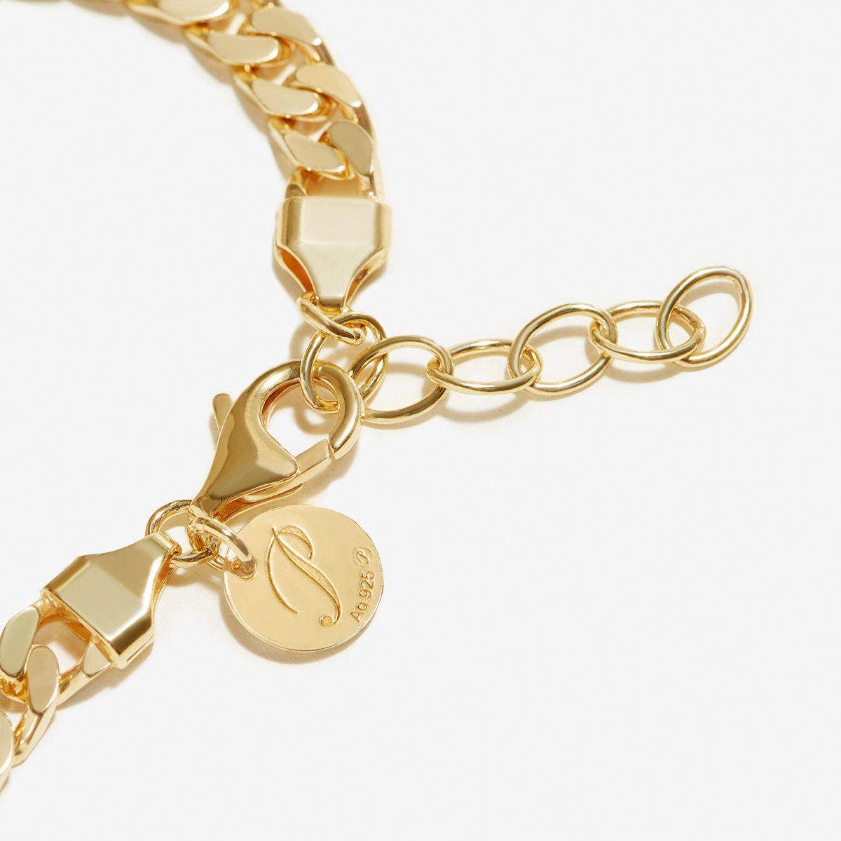 Polly - Armband - 18k vergoldet