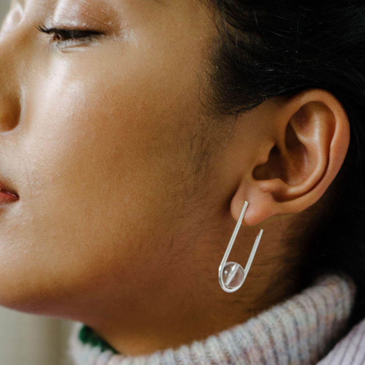 Balance - Ohrhänger - Silber
