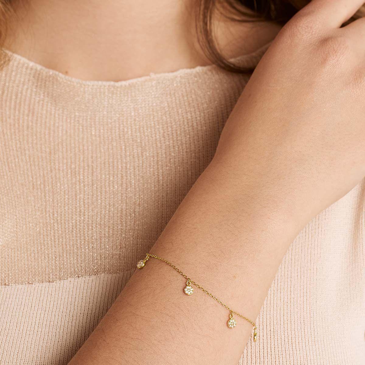 Celeste - Armband - 18k vergoldet