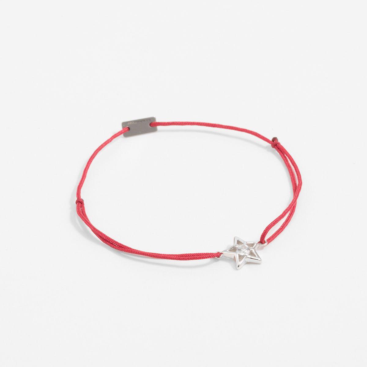 Élodie - Armband - Dunkelrot