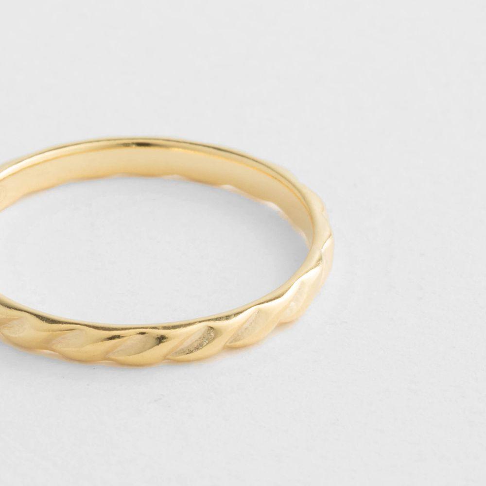 Jasmine - Ringe - 18k vergoldet