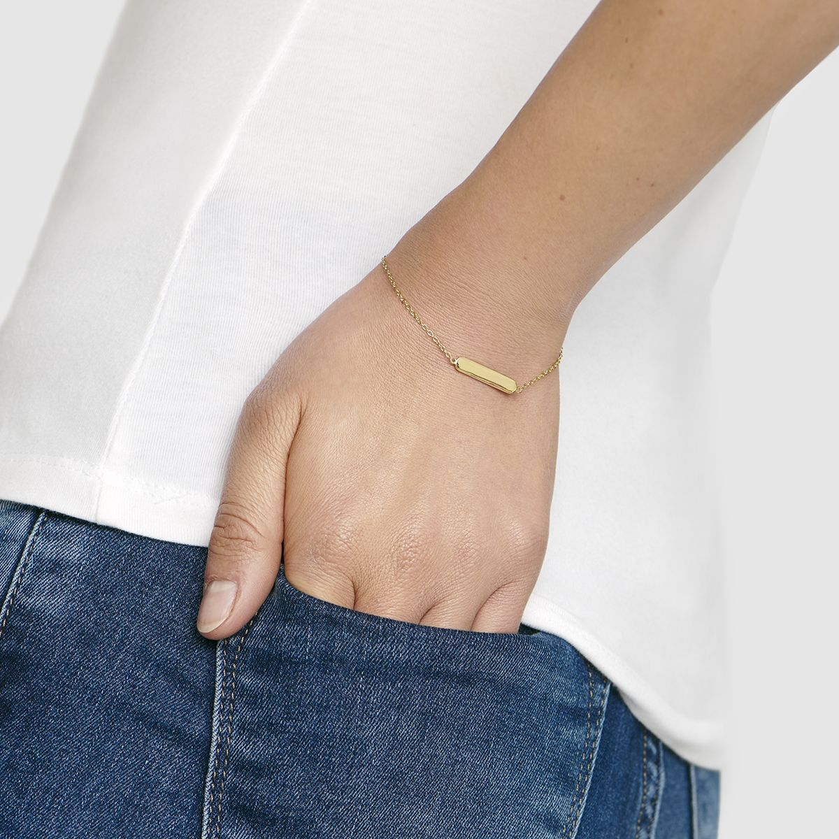 Aaliyah - Armband - Gold