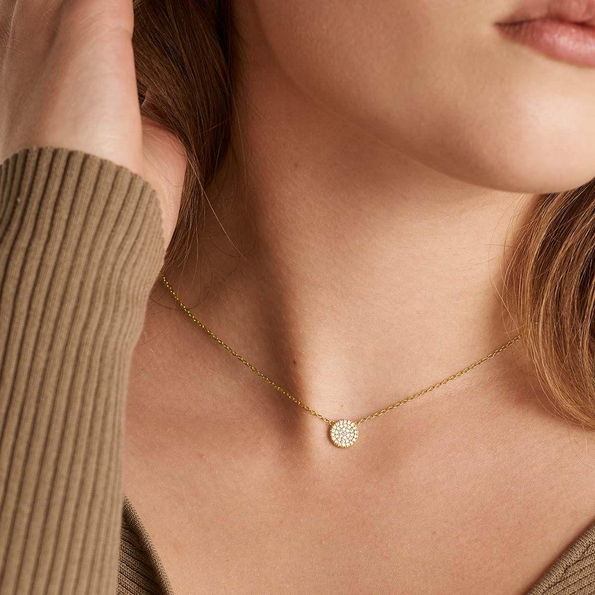 Lana - Halsketten - 18k vergoldet