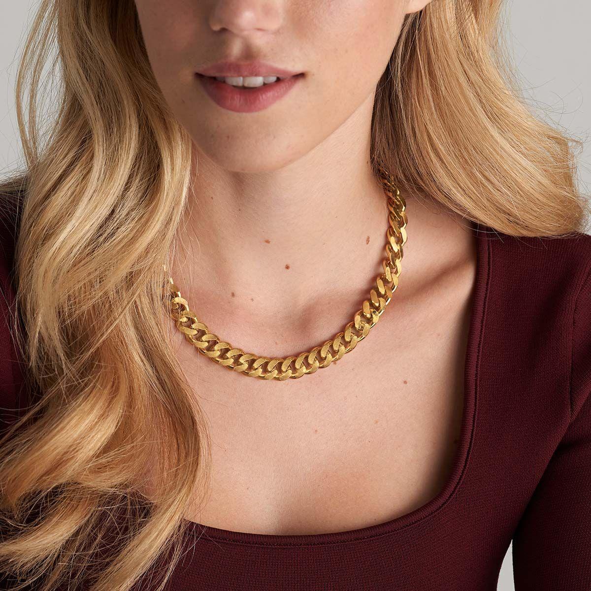 Alexa - Halsketten - 18k vergoldet