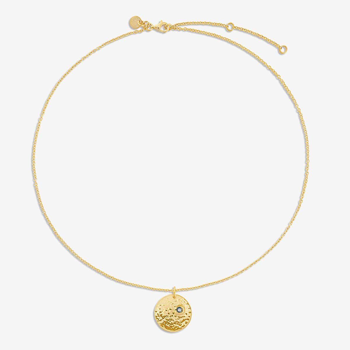 Birthstone September - Halsketten - Gold