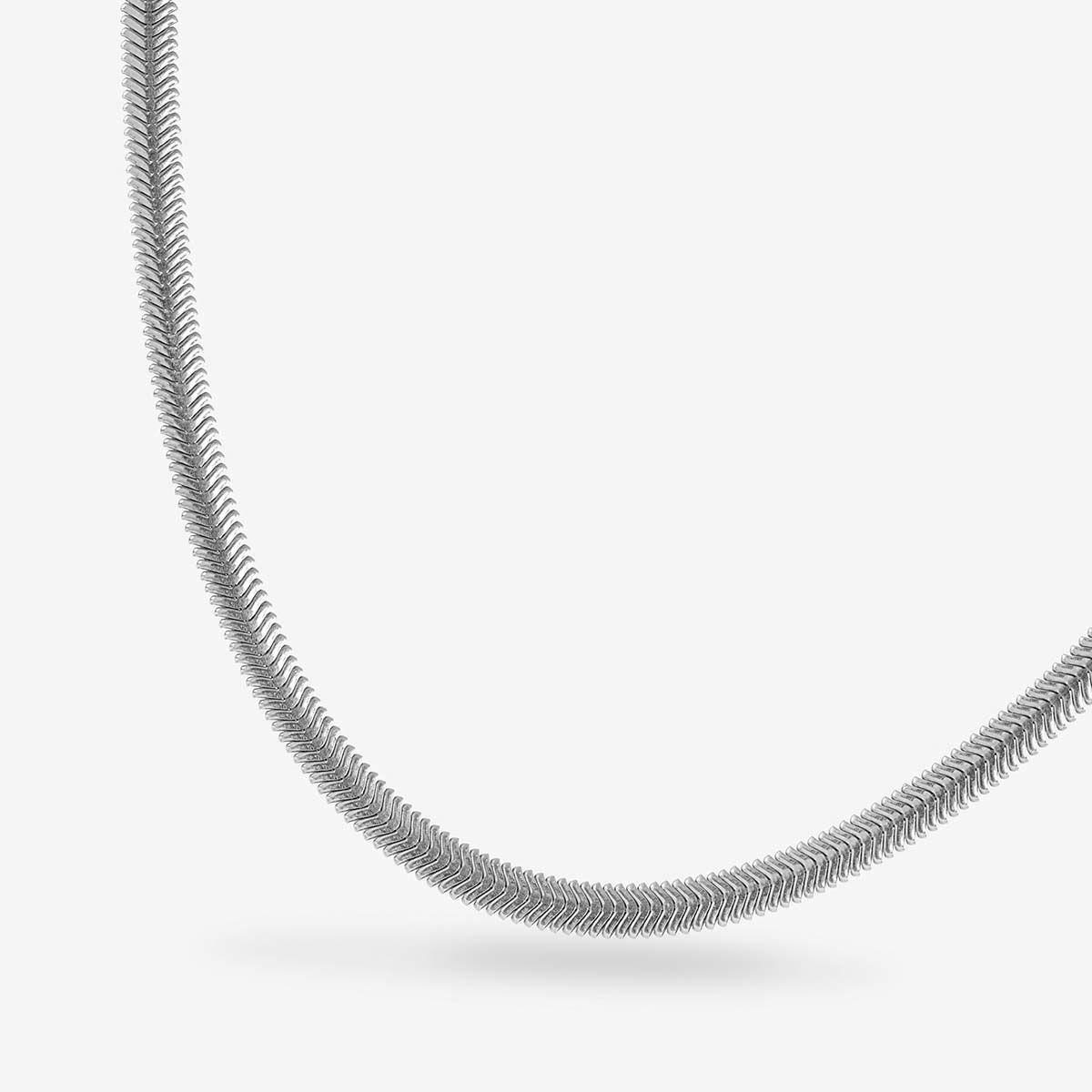 Xali Large - Halsketten - Silber