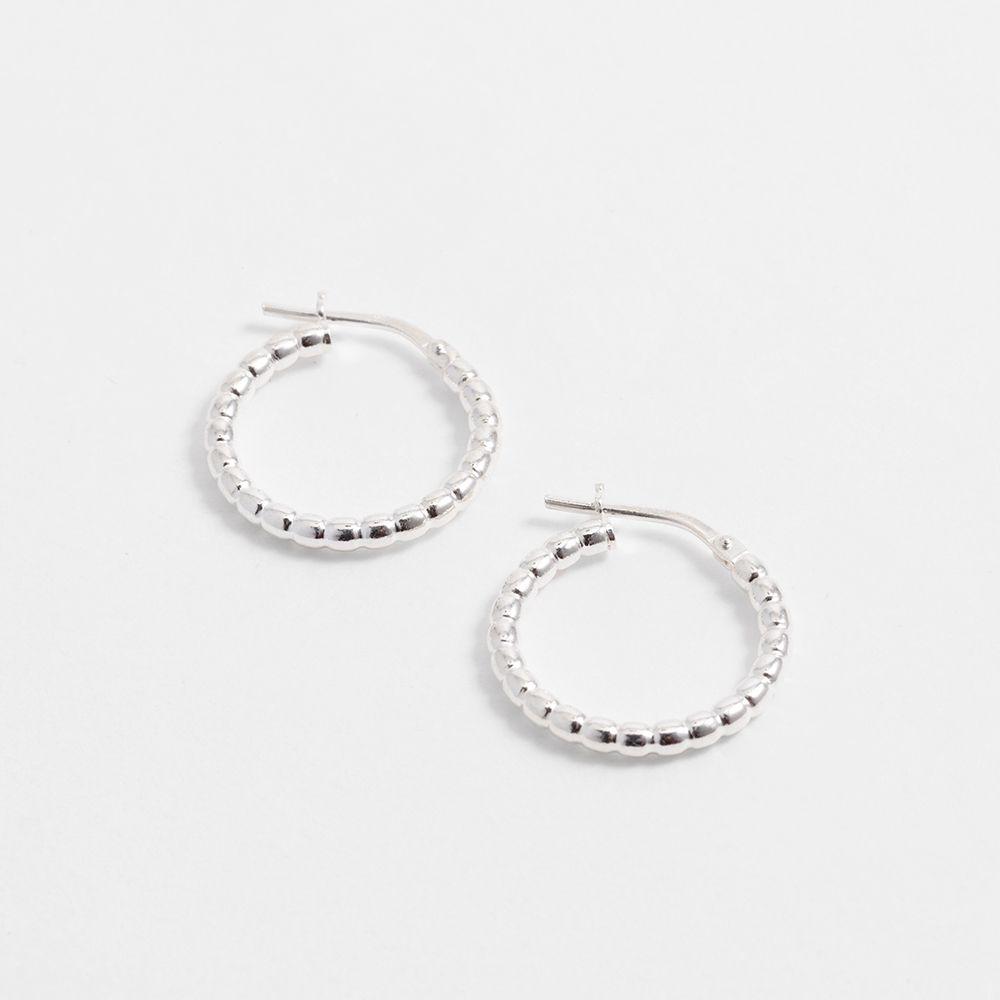Antonia Tiny – Creolen – Silber