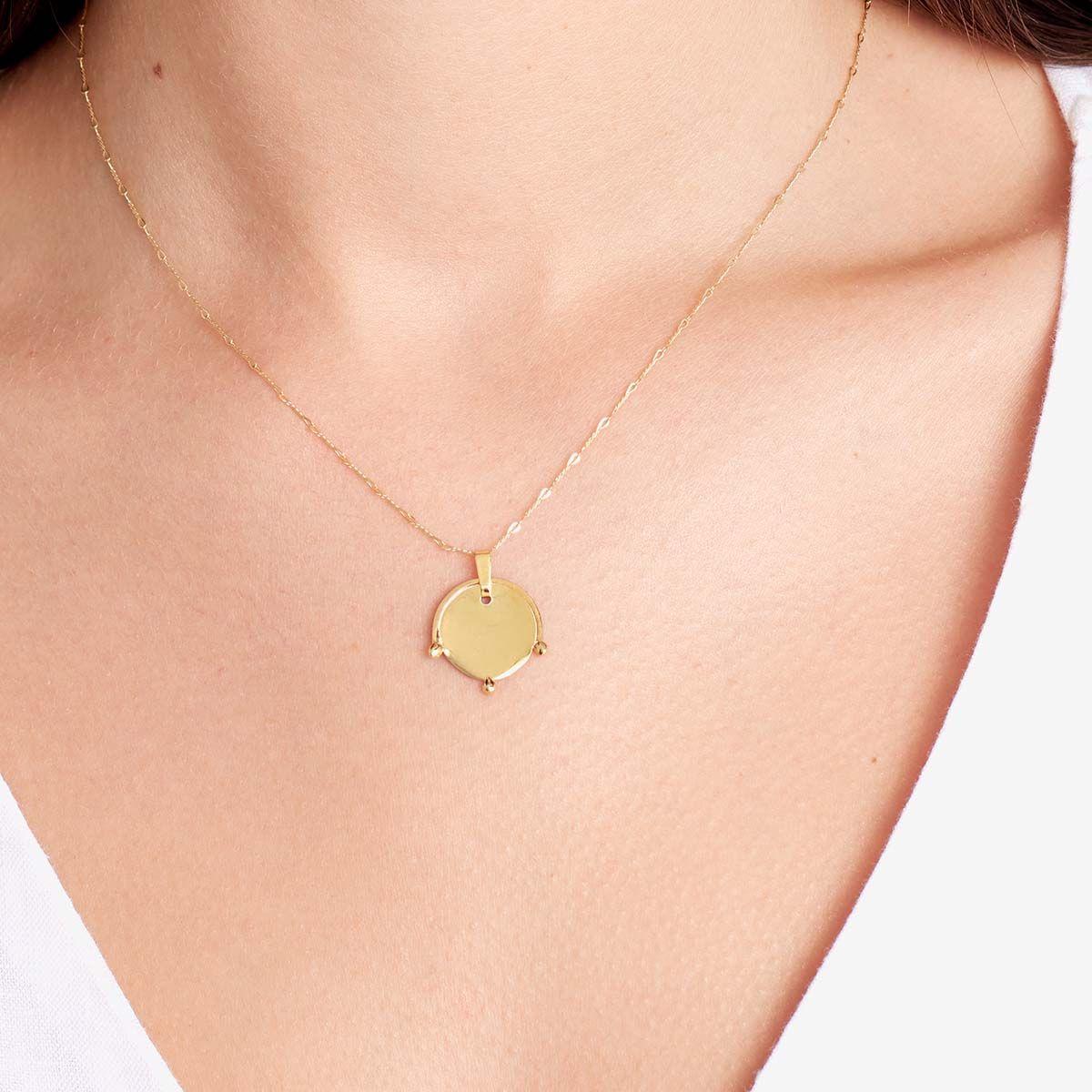 Stella - Halsketten - 18k vergoldet