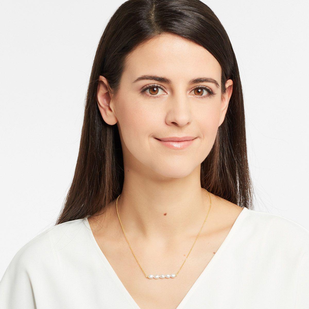Emilia - PerlenKetten - Silber