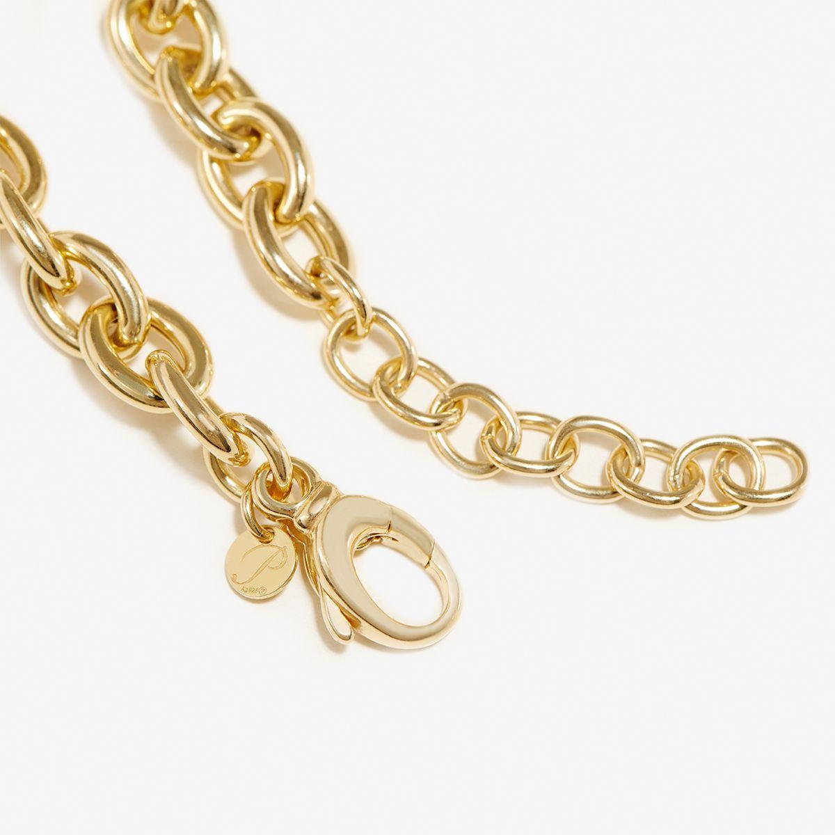 Hailey - Halsketten - 18k vergoldet