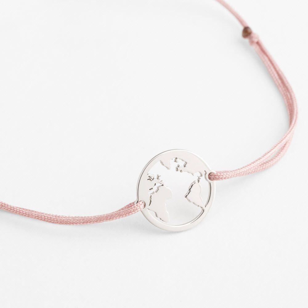 Modearmbänder - Rosa-Braun