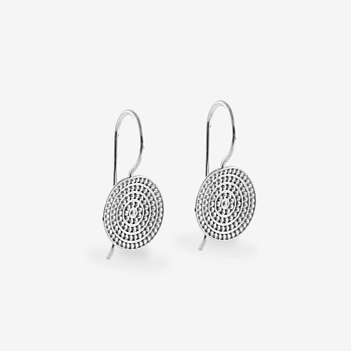 Coin earrings - Ohrhänger - Silber