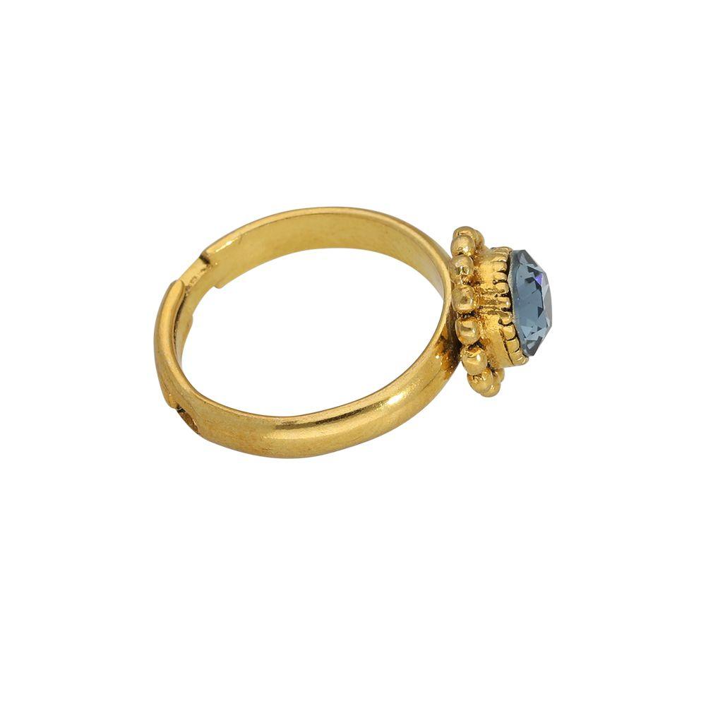 Ring - Denimblau