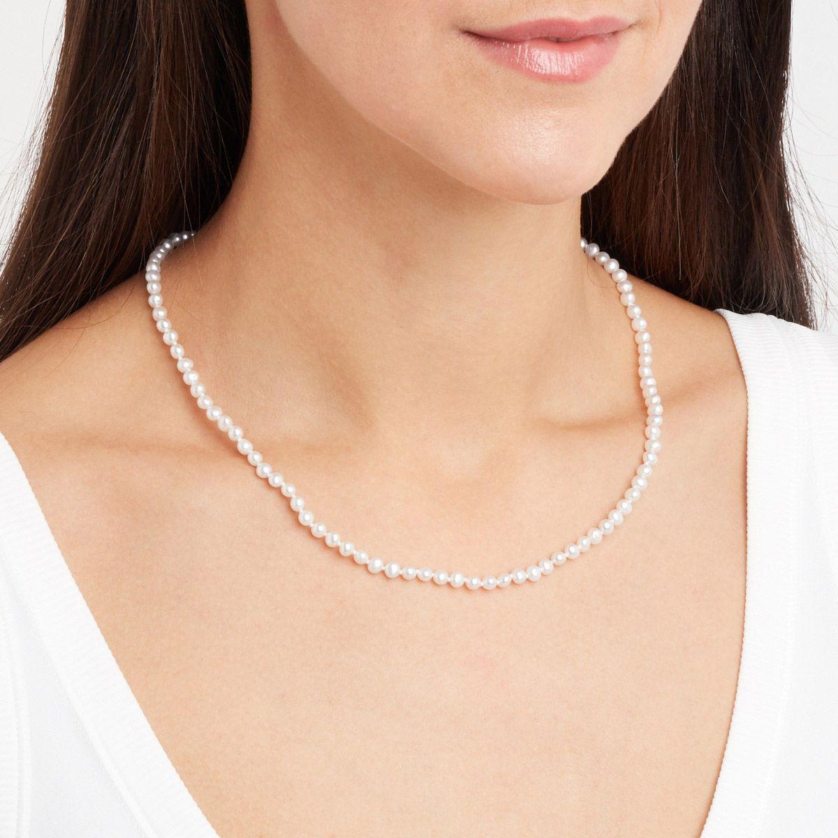 Viviane - PerlenKetten - Silber