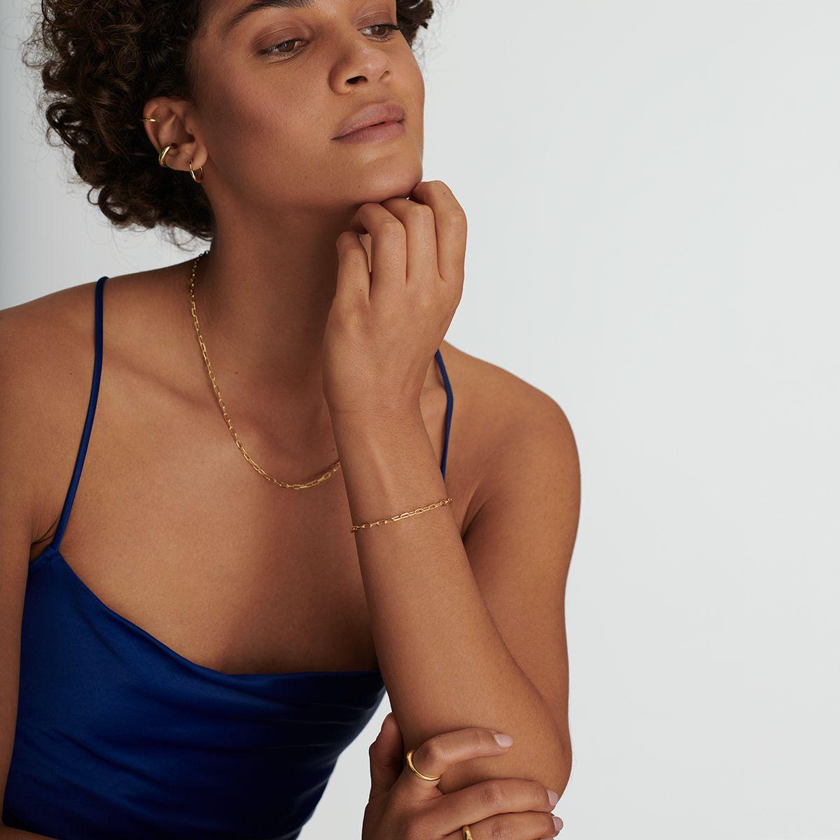 Célia - Armband - 18k vergoldet