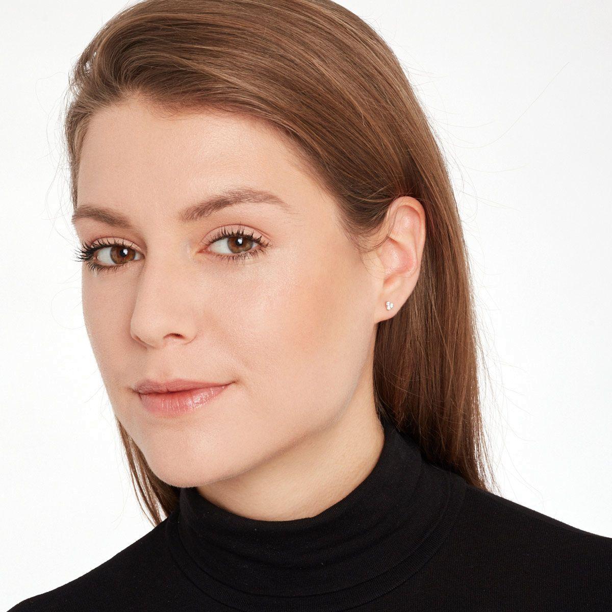 Ella - Ohrstecker - Silber