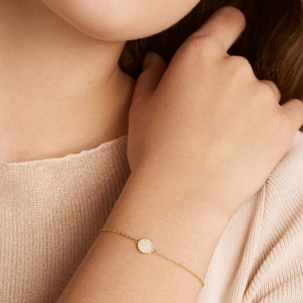 Faye - Armband - 18k vergoldet