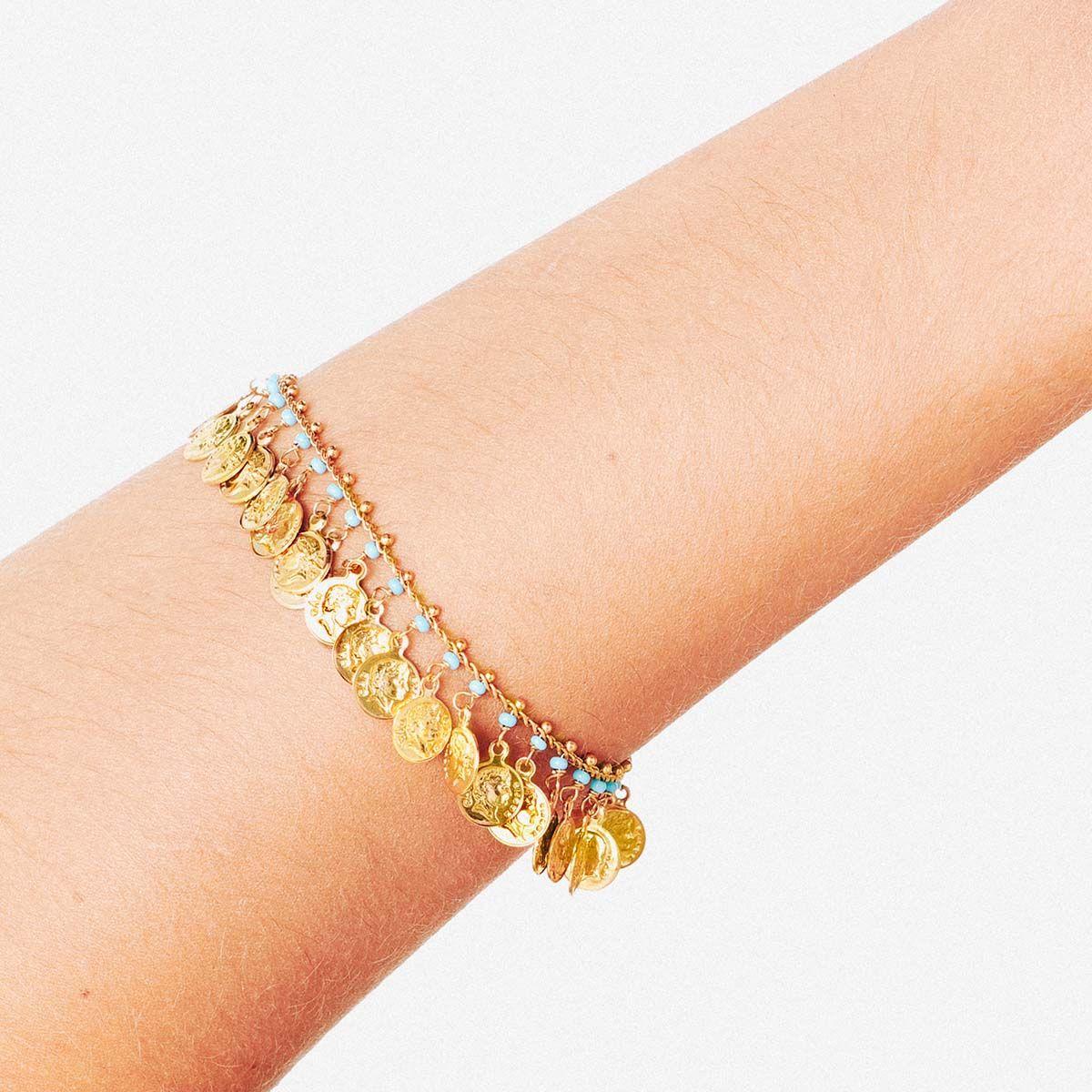 Romana - Armband - Türkis