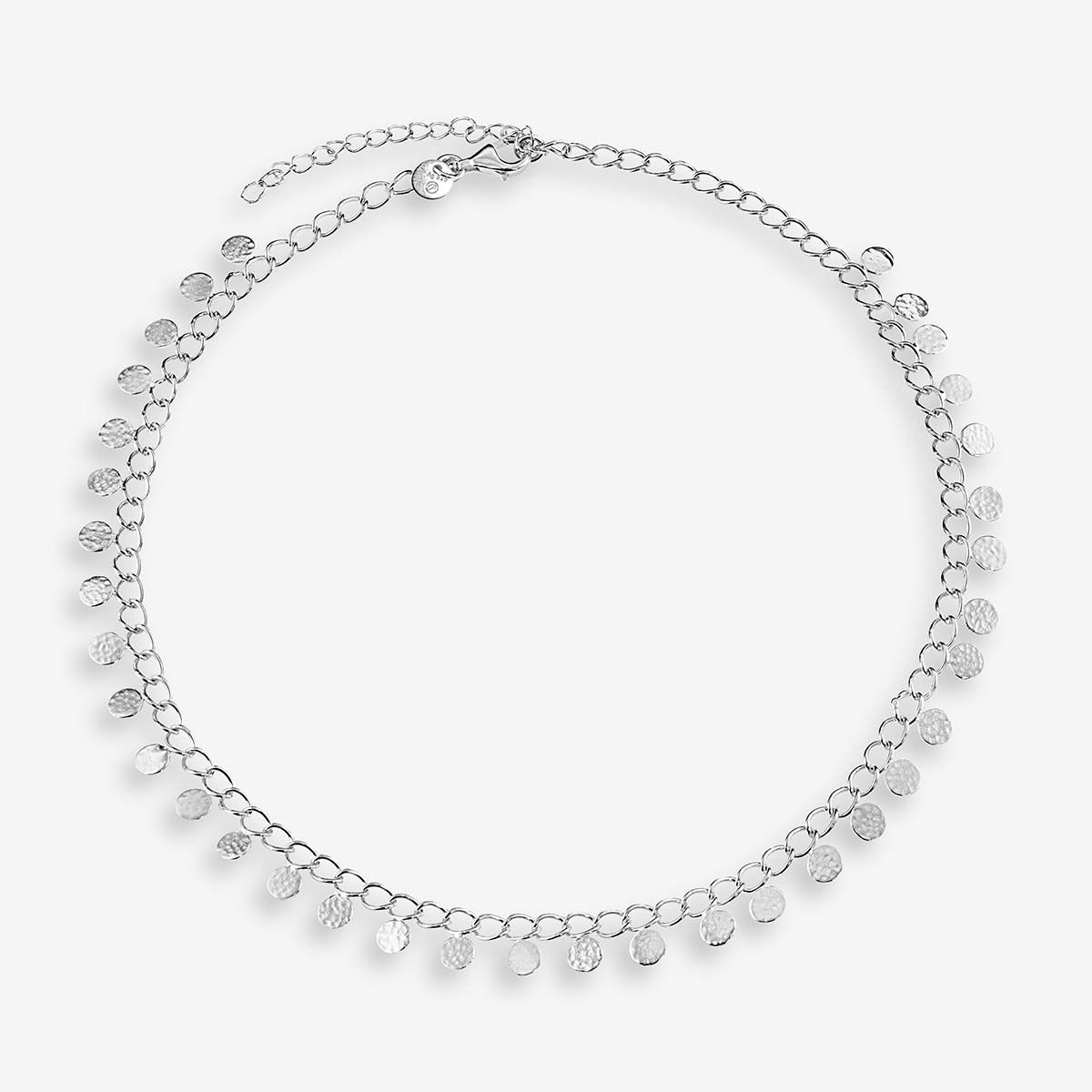 Coin necklace - Halsketten - Silber