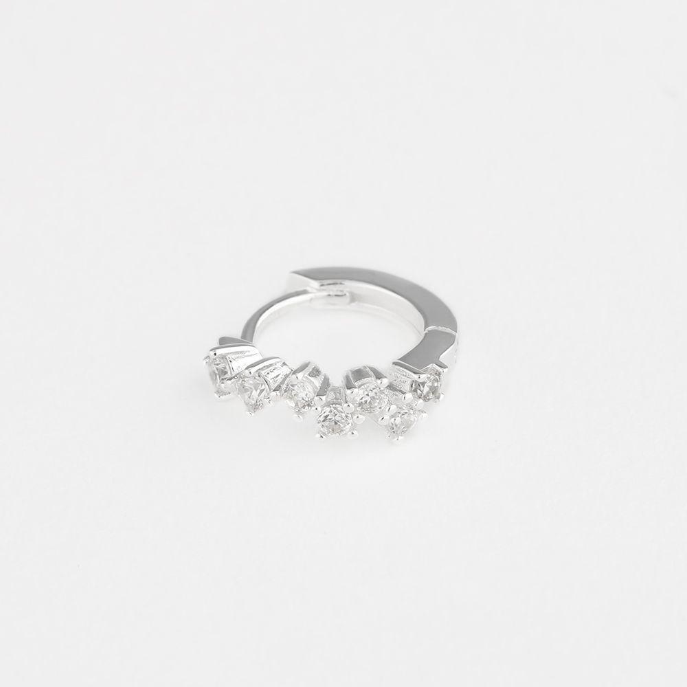 Goldie hoop - Single-Ohrringe - Silber