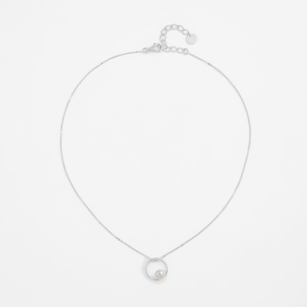 Bernice - PerlenKetten - Silber