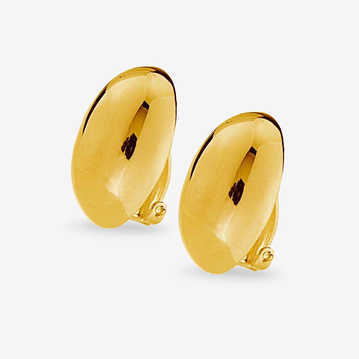 Big Clip - Ohrclips - Gold