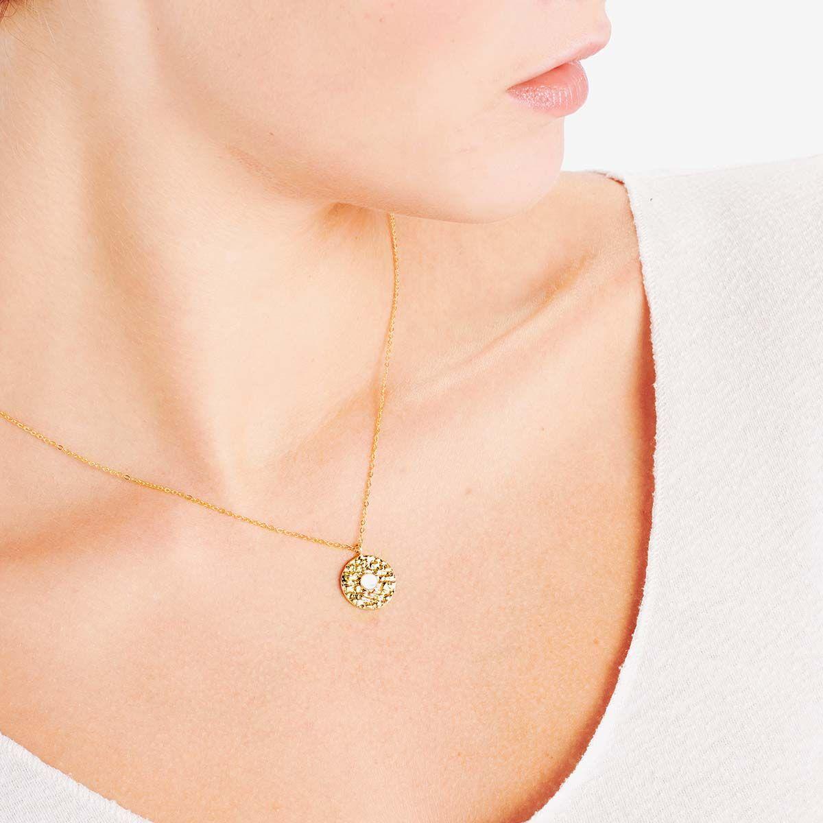 Riad - Perlenketten - Gold