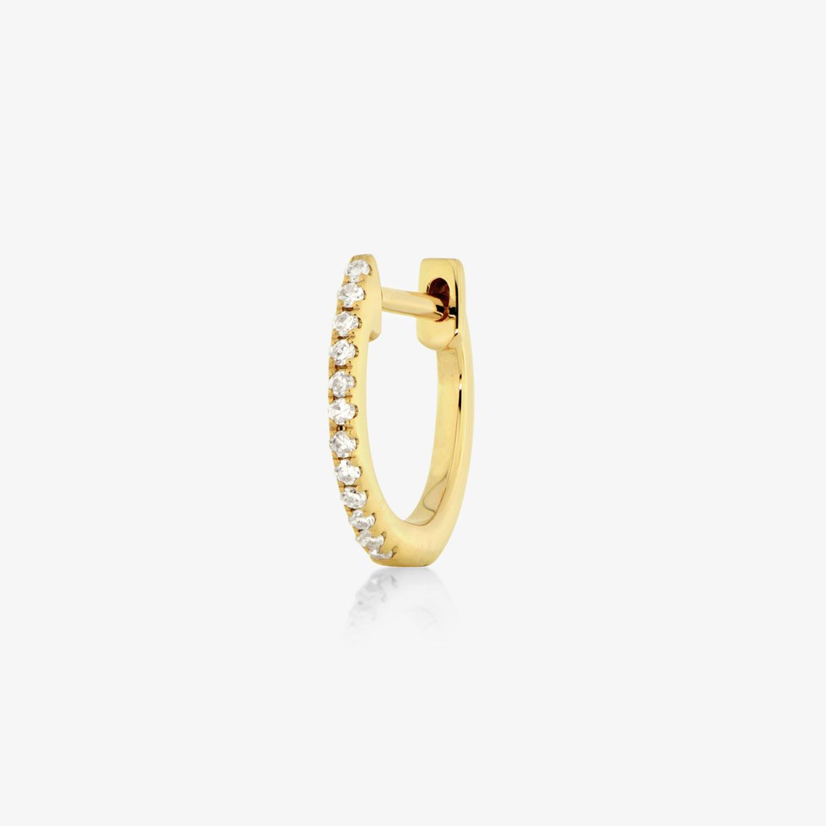 huggie 002 - Single-Ohrringe - Gold