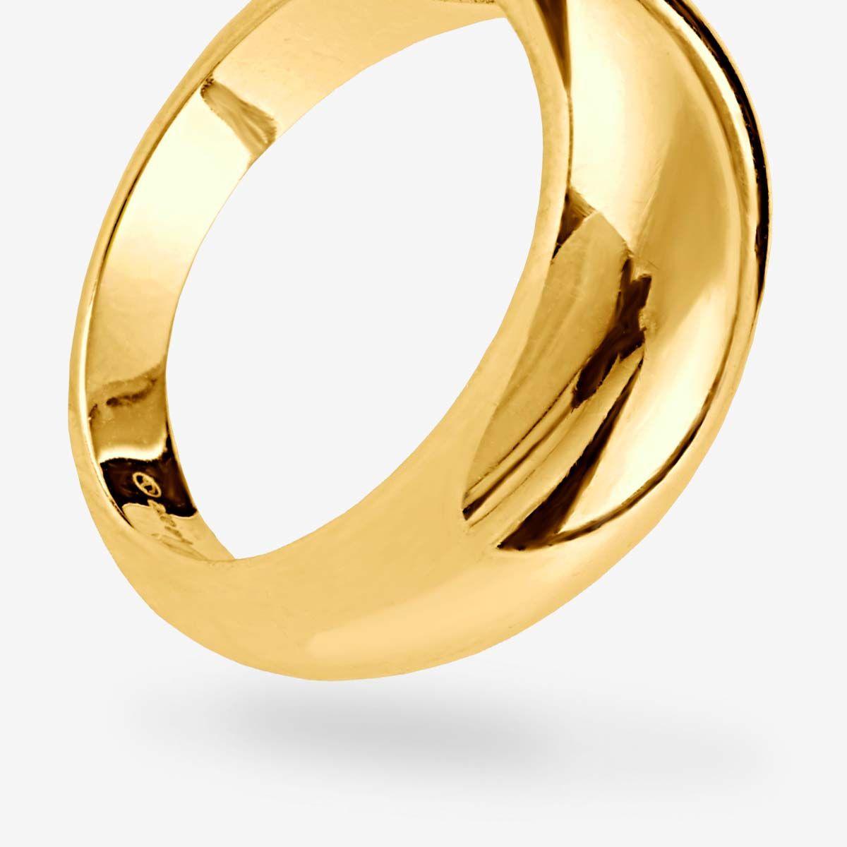 Dome - Ringe - 18k vergoldet