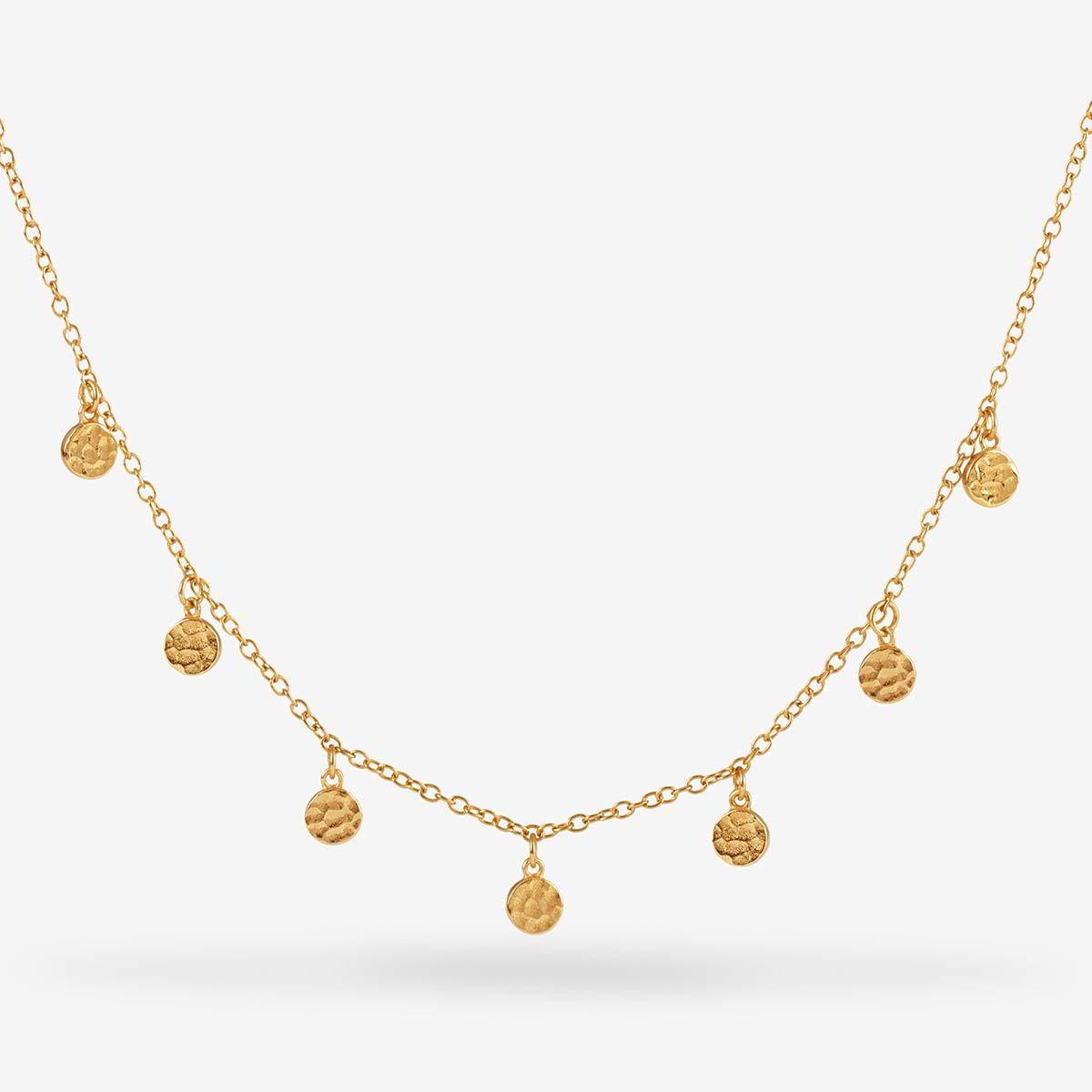 Sienna - Halsketten - 18k vergoldet