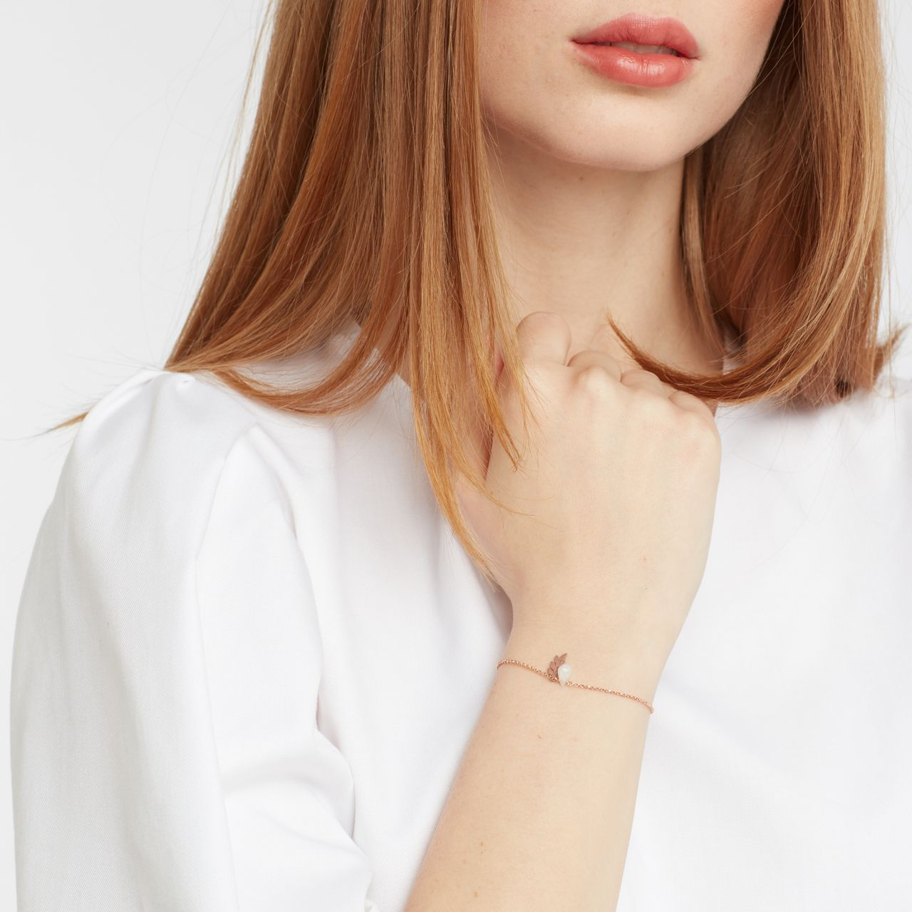 Estelle - Armband - Grau
