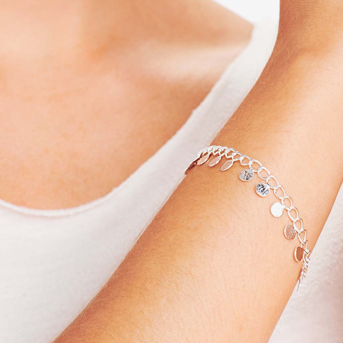 Coin bracelet - Armband - Gold