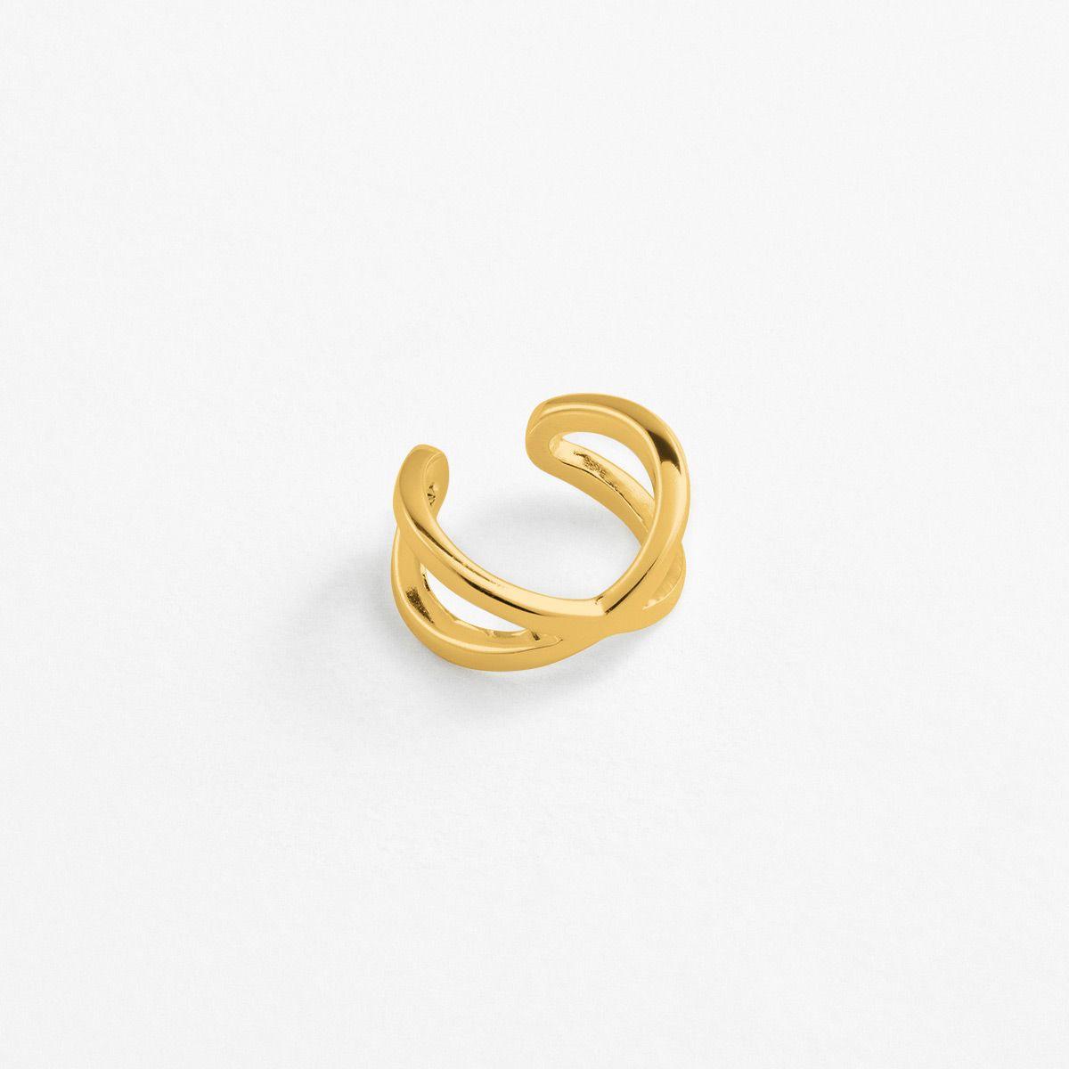 Jada - Earcuffs - 18k vergoldet