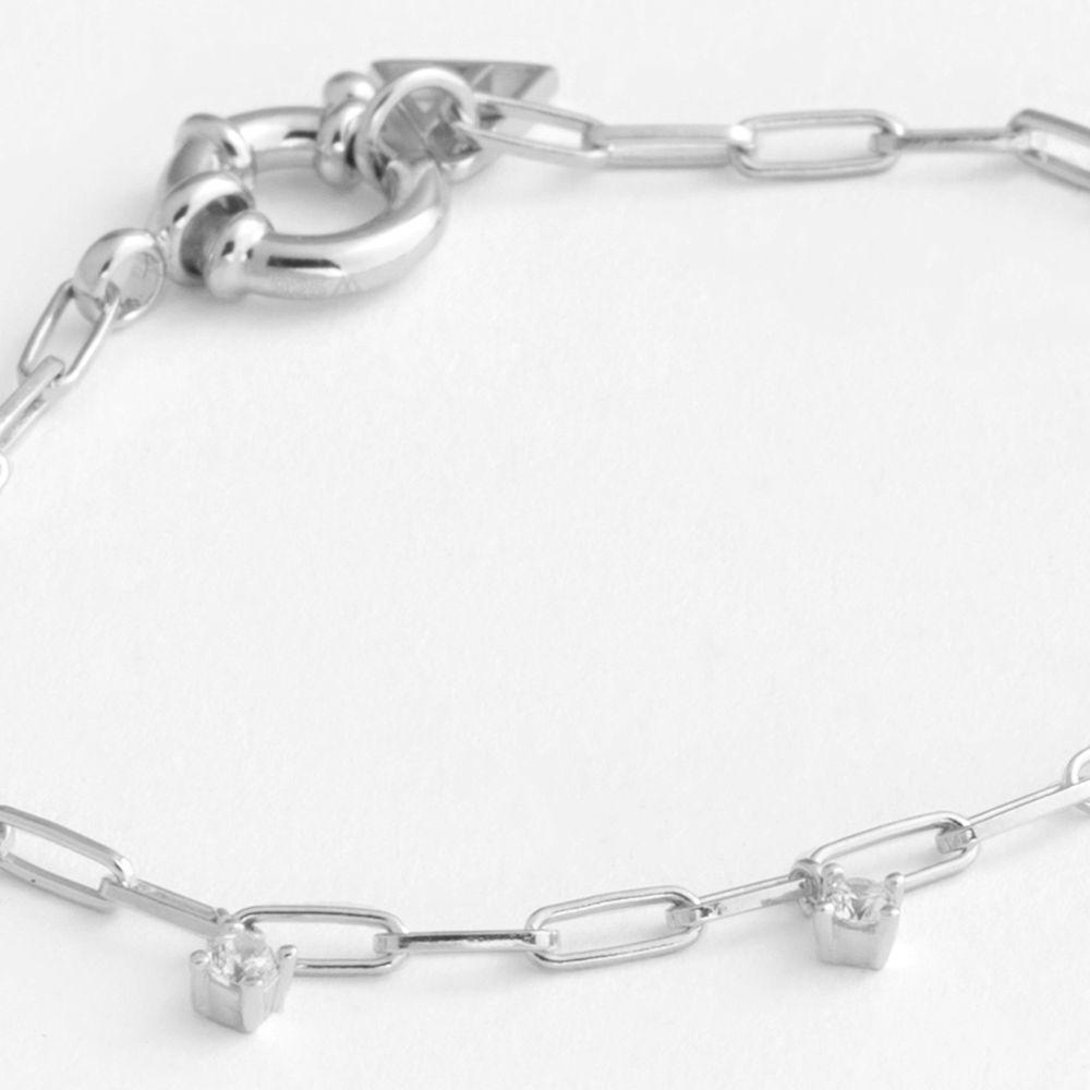 - Modearmbänder - Silber