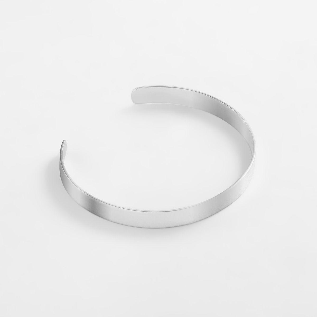 Sara - Armreifen - Silber