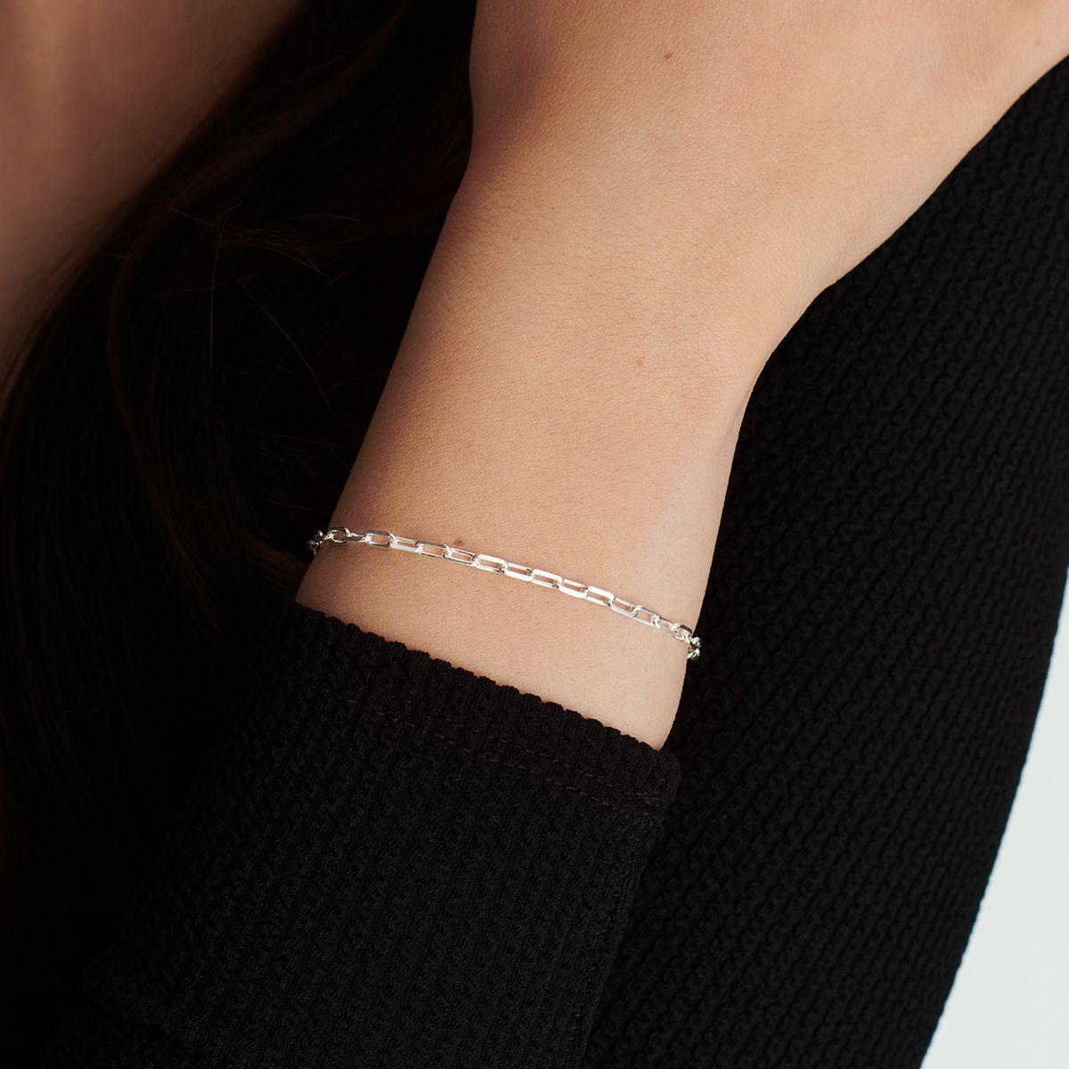 Célia - Armband - Silber
