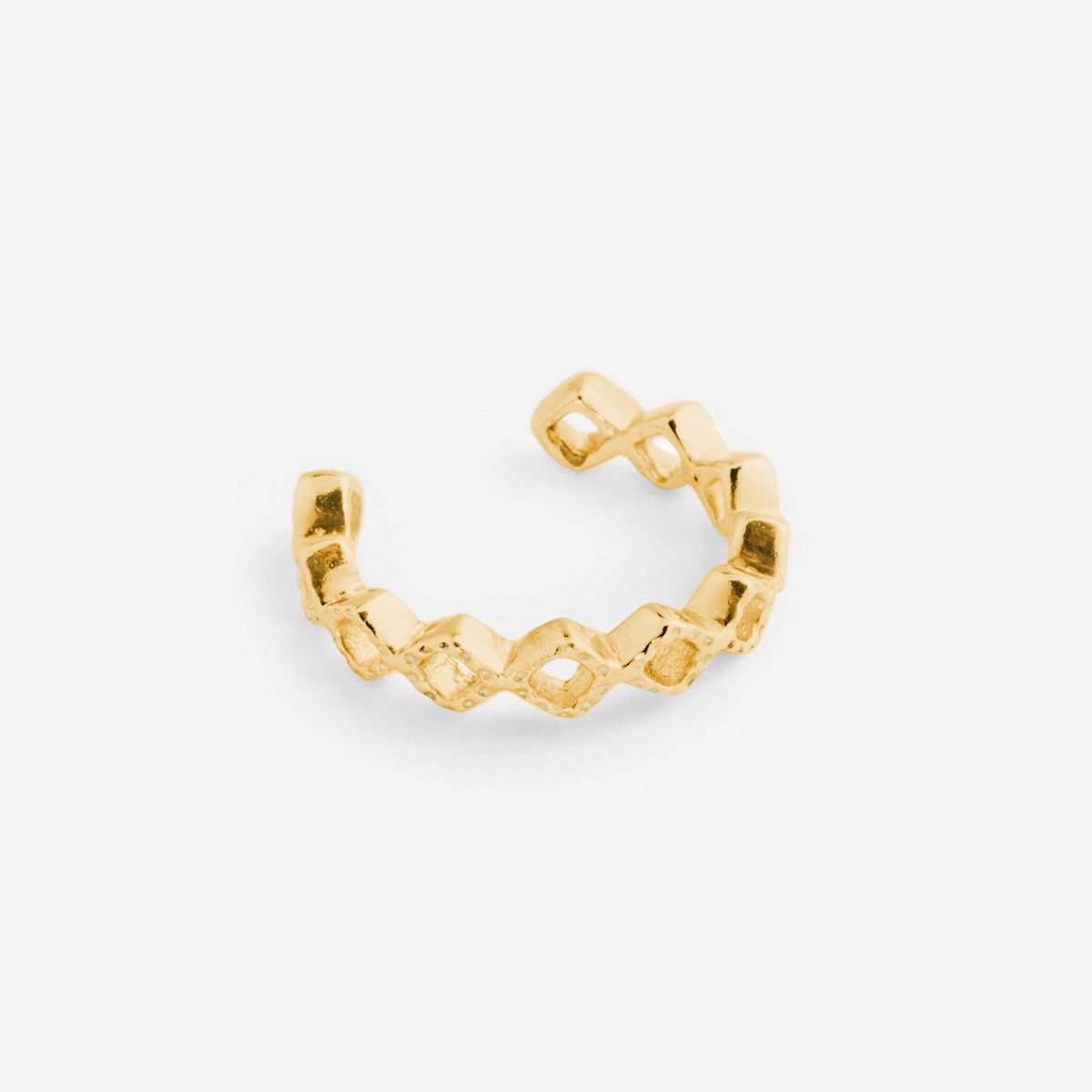 Stephanie - Earcuffs - Gold
