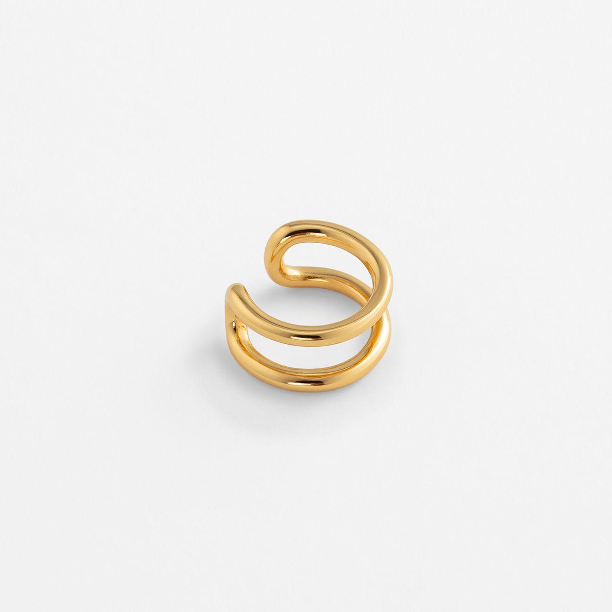 Lina - Earcuffs - 18k vergoldet