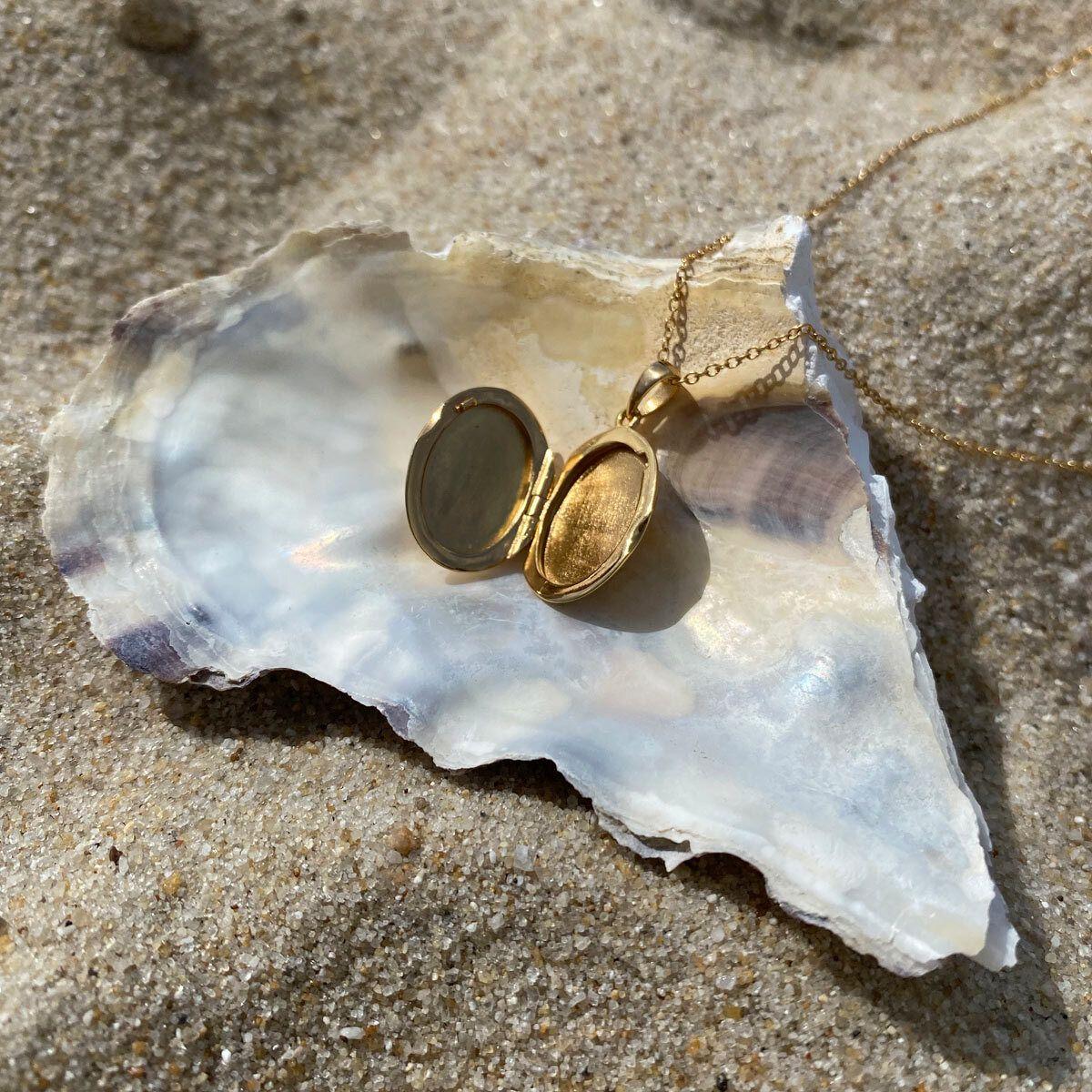 Yalonda - Halsketten - 18k vergoldet
