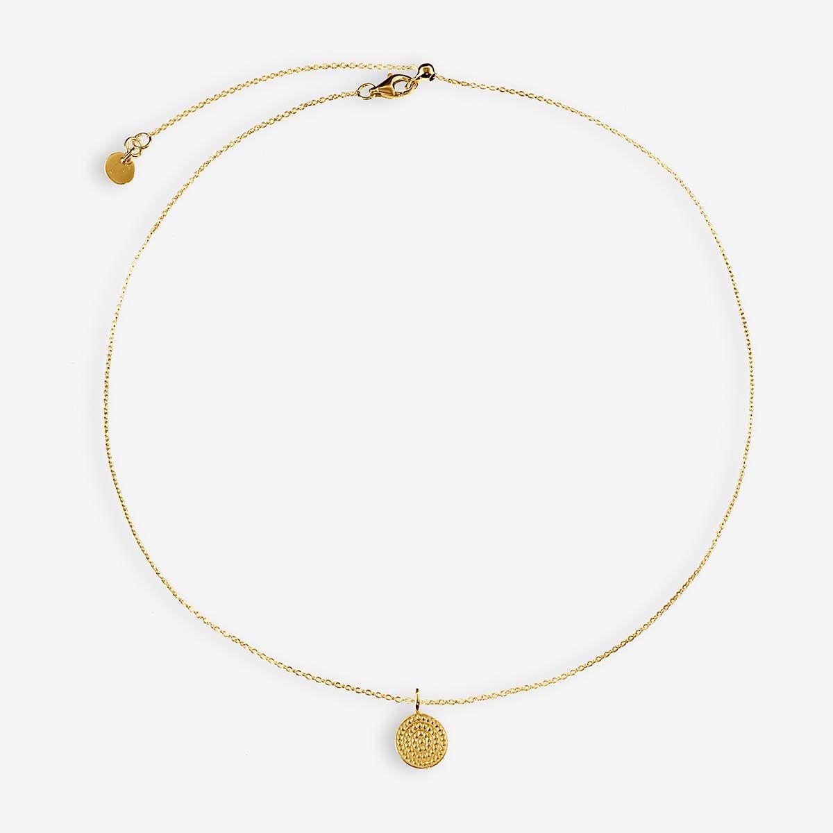 Coin necklace - Halsketten - Gold