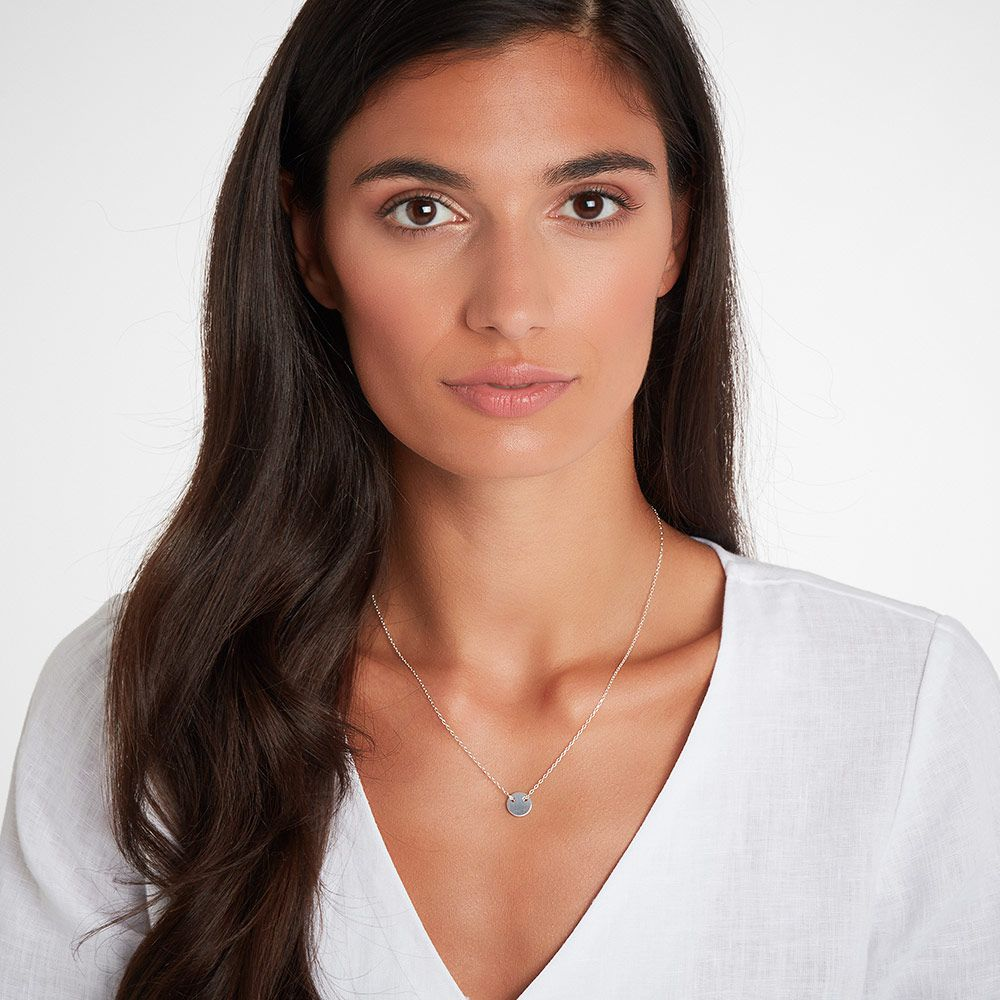 Adeya - Halsketten - Silber