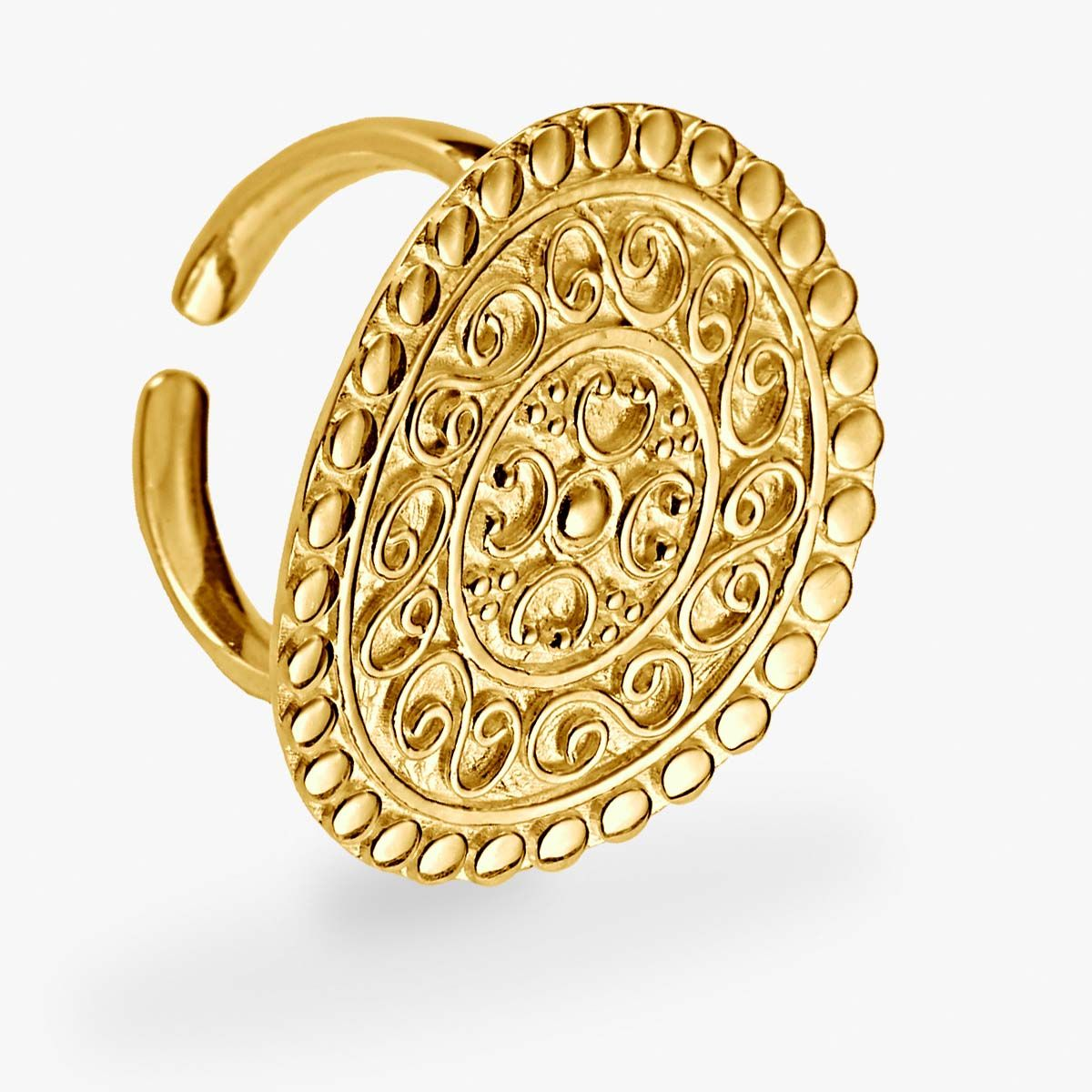 Statement ring - Ringe - Gold