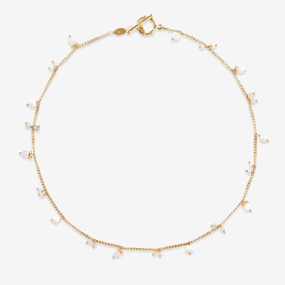 Tangerine - Halsketten - 24k vergoldet