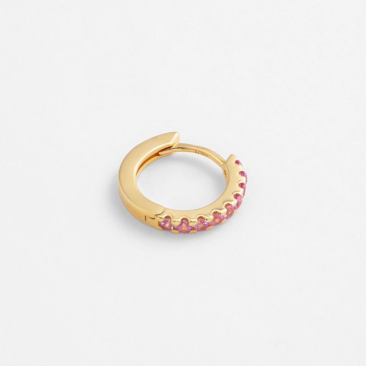 Kylee Pink - Single-Ohrringe - 18k vergoldet