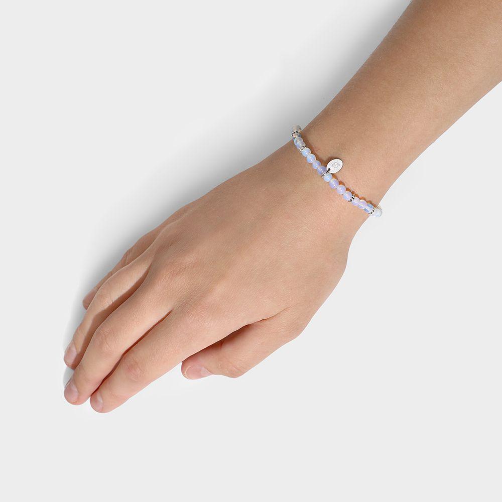 Elastische Armbänder - Grau