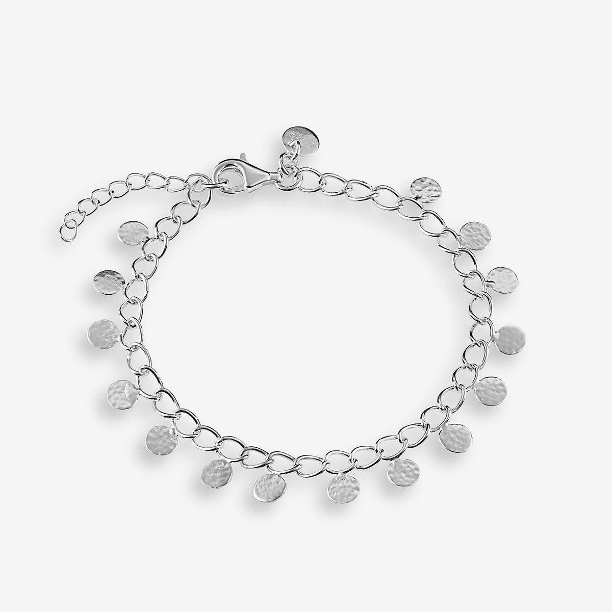 Coin bracelet - Armband - Silber