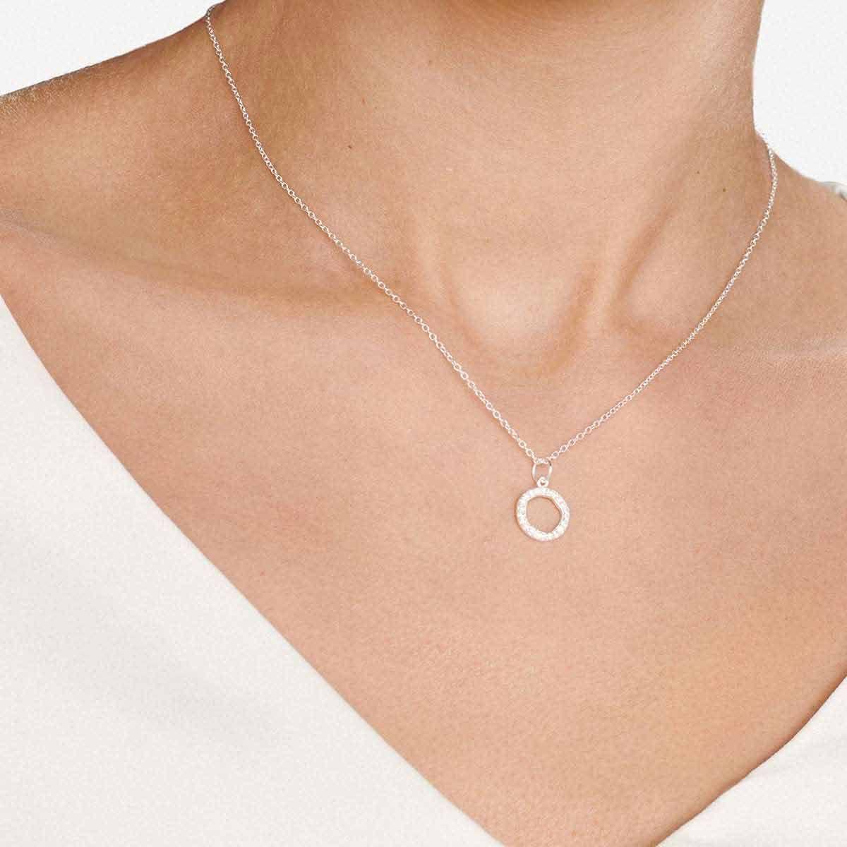 Aria - Kettenanhänger - Silber