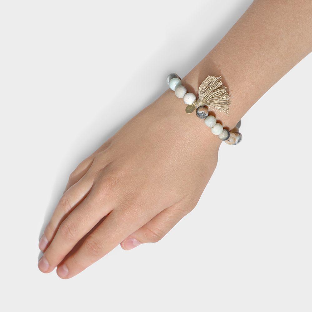 Elastische Armbänder - Hellblau