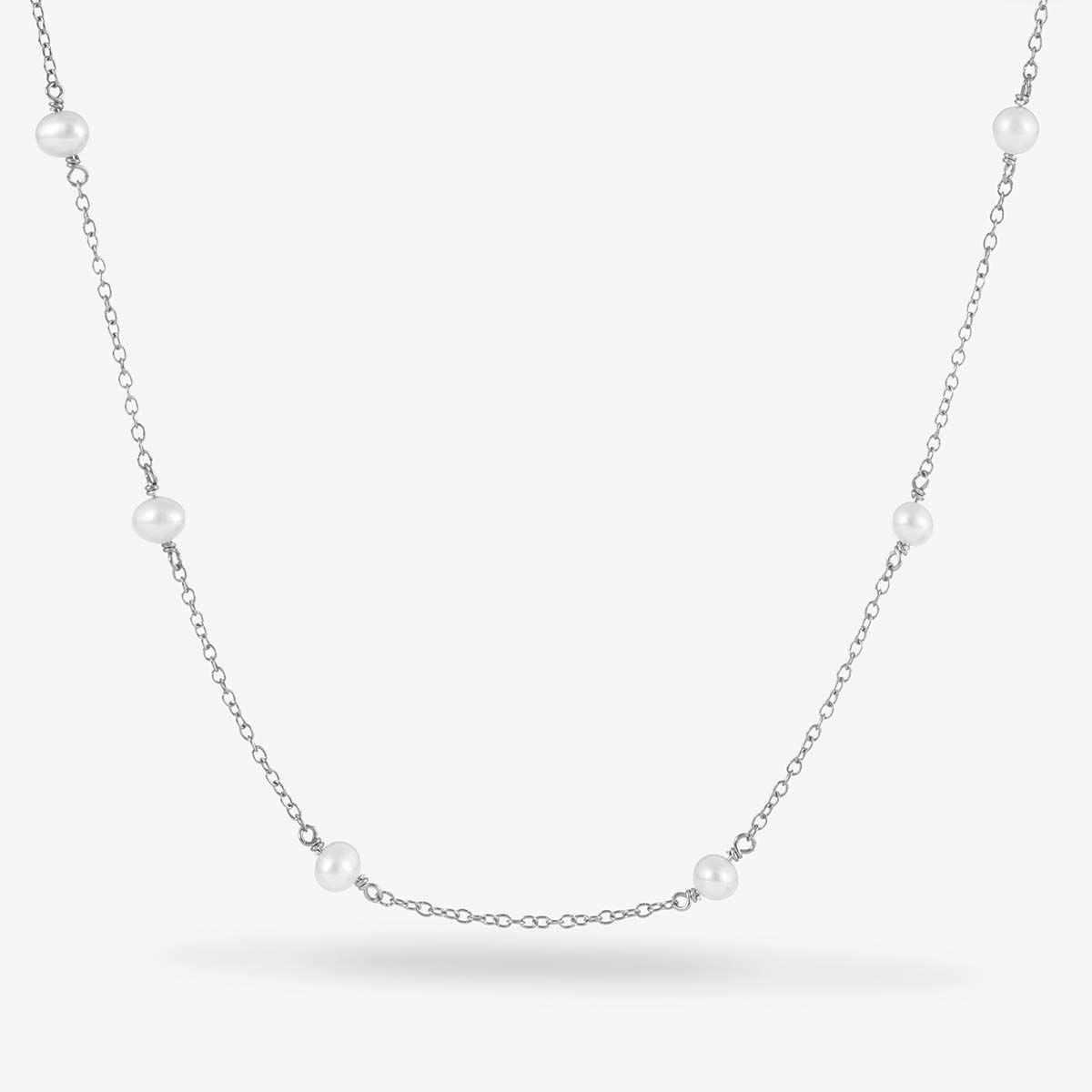 Roxy - Perlenketten - Silber