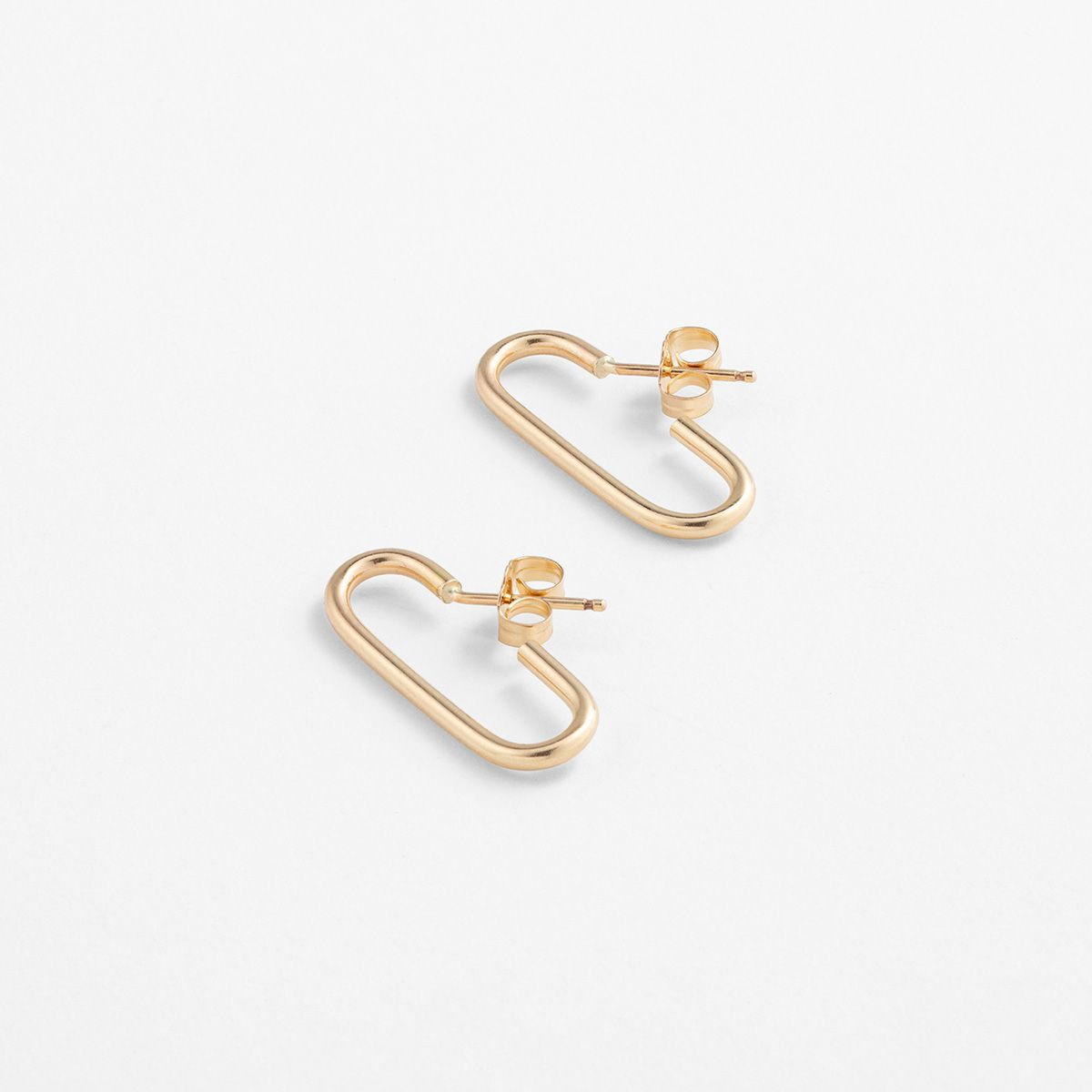 Mono III Small - Ohrhänger - Gold